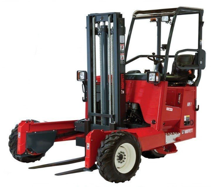 Vehicle Mounted Forklift Material Handling Training