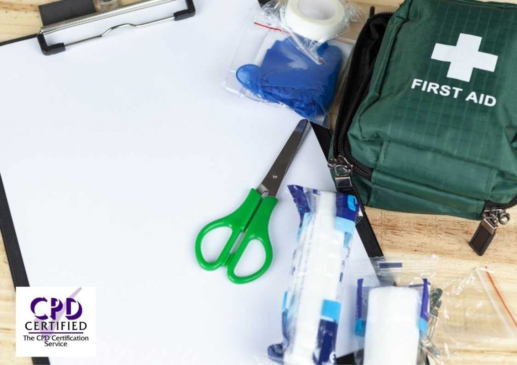 First aid in the workplace elearning