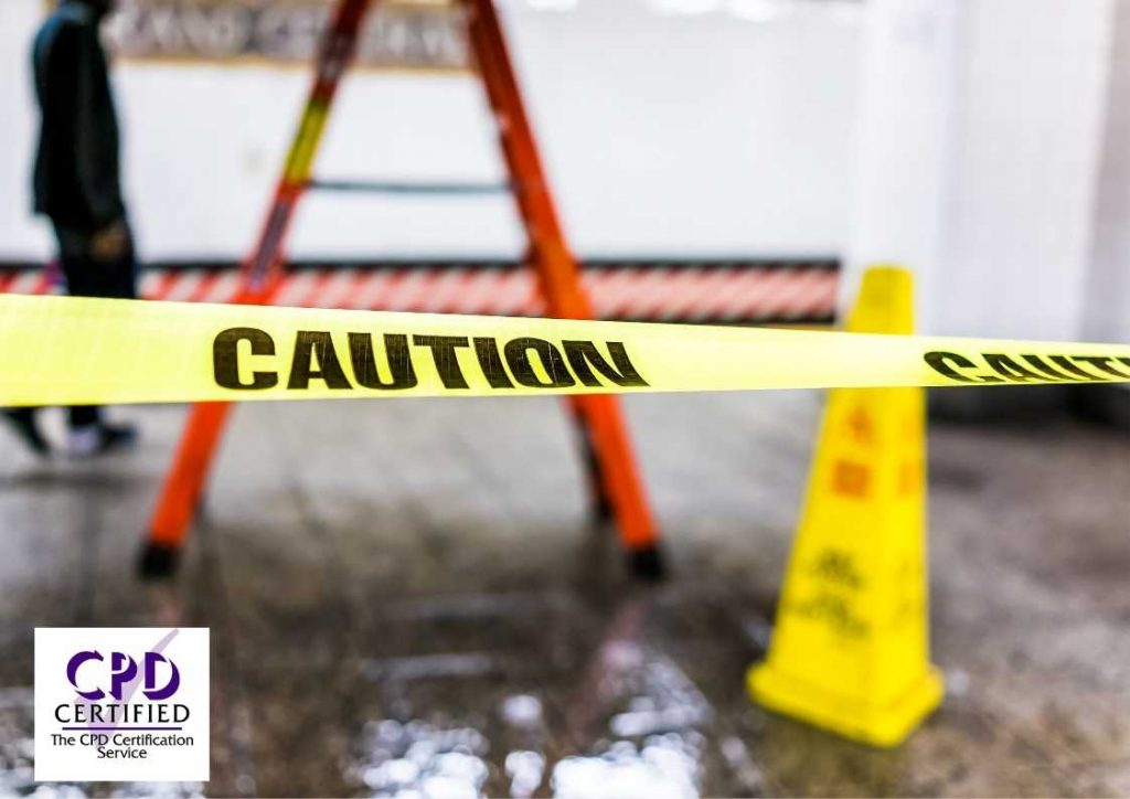Slips, trips and falls online training